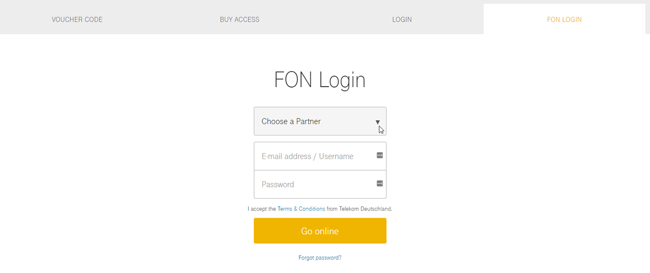Pass User In Germany Welcome To Fon Help Center