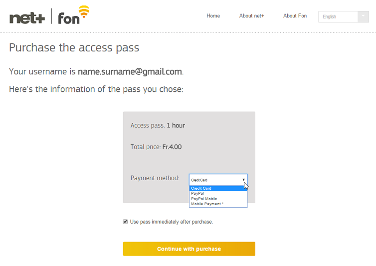 pass user in switzerland welcome to fon help center